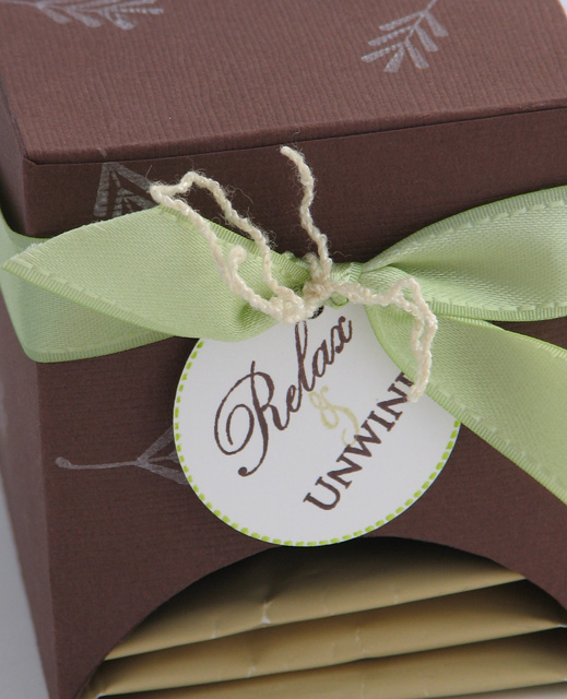 Close up relax tag