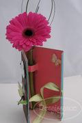 Inside flower holder