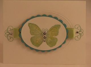 Oval butterfly