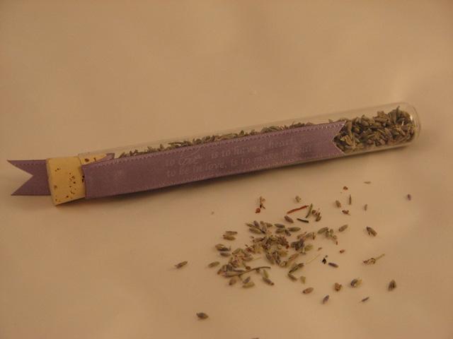 Lavender tube no card