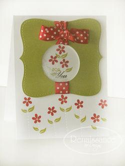 Bunnyloveflower card