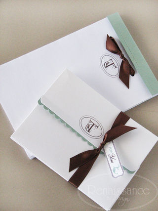 Alluring Alpha stationery