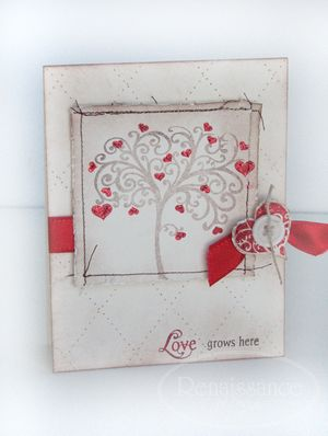 Love grows card